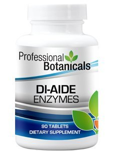 Professional Botanicals - DI-Aide Enzymes 90 tabs by Professional Botanicals