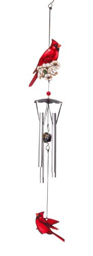 - Spoontiques Cardinal Wind Chime