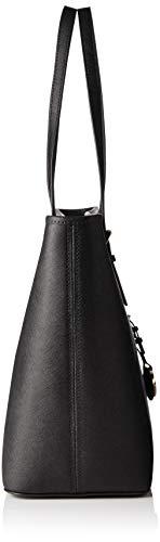 Michael Kors - Jet Set Travel Saffiano Leather Top-Zip Tote, Borsa con Maniglia Donna 3