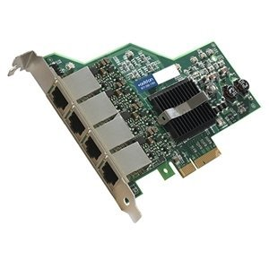Addon Intel I350t4 Comp. Ethernet Nic W/4 Ports 1Gbase Rj45 Pcie X4 - Pci Express X4 - 4 Port(S) - 4 X Network (Rj-45) - Twisted Pair ''Product Category: Network & Communication/Network Interface Cards'' by Original Equipment Manufacture