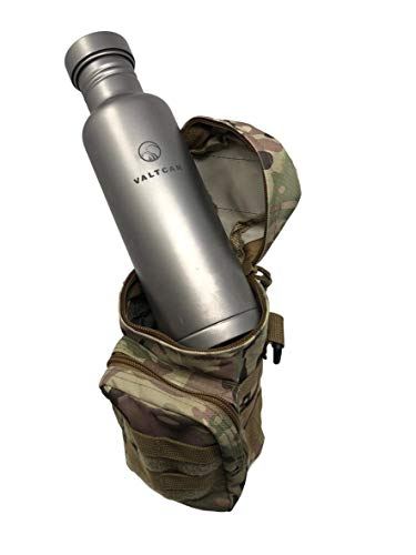 Valtcan Tactical Molle Bags Water Bottle, Mobile Phone, and Camping Hiking Pouches 3 Pack Set by Valtcan (Image #5)