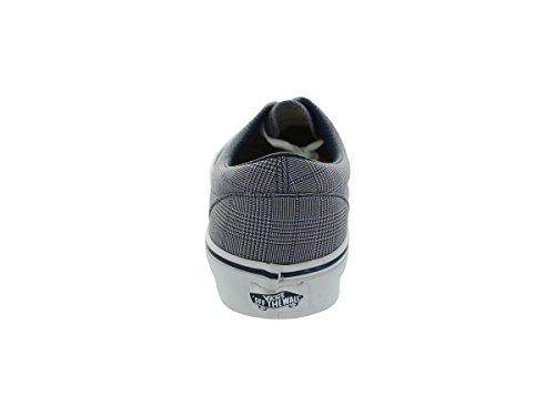 Vans Mens Scillaplaid Canvas Skateboard Sneakers Scillaplaiddrssbltrwht