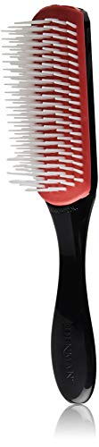 Denman Classic Styling Brush 7 Rows - D3 - Hair Brush for Blow-Drying & Styling - Detangling, Separating, Shaping & Defining Curls for Women