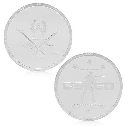 Token Silver Strike - Susie-Smile - Game CSGO Counter Strike Silver Plated Commemorative Collectible Token Gift