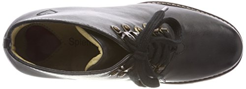 Spieth 2001 Mujer amp; Negro stiefel Irmtraud schwarz D Botines Wensky 482 Para RRPrZ