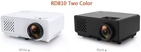 Mini Proyector de bolsillo Home Mini HD Proyector LED soporta ...