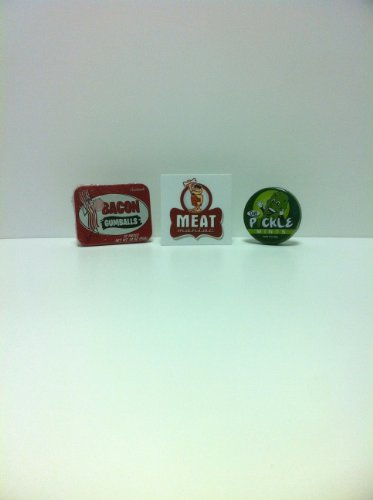 MEAT MANIAC Novelty Candy Combo Gift Pack with Sticker- Baco