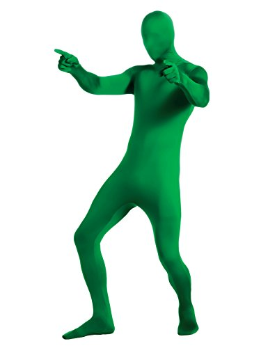 Rubie's Men's Second Skin Zentai Supersuit, Green, Medium]()