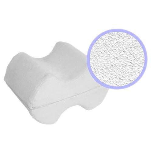 Almohada–la mejor Espuma de memoria de cuña de pierna 2-en-1rodilla almohadas para dormir y apoyo para piernas,...