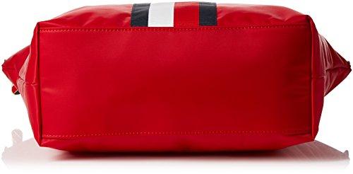 Stripe cm x Borsa x Tommy Hilfiger B Classic Zip 14x32x47 Up Red T Core Donna Tote Stripe H Rosso SORPpqOW