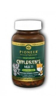 (Pioneer Nutritional Formulas, Multi Vitamin Chewable Child, 120 Tablets)