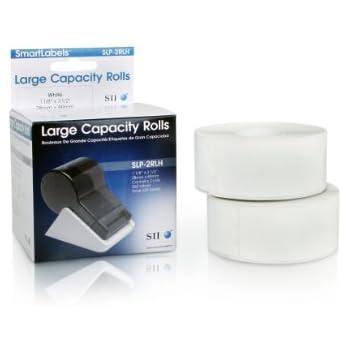 Seiko Instruments High-Capacity Address Labels for Smart Label Printers (SLP-2RLH)