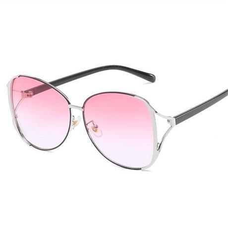 Gafas la Sun sol de Pink conducción Elegante Mujer sol Marrón Mujer Gafas de GGSSYY de marca Uv400 Gafas Moda Diseñador wvqAf6Z