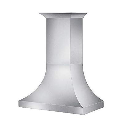 "ZLINE 48"" Designer Series Snow Stainless Finish Wall Range Hood (8632S-48)"