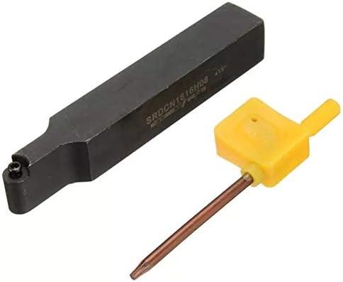 Bearbeitung/Schrupp- / Dressing/Fräserset Halter Bohrstange for RCMT0803 / RCMX0803 R4 Runde Insert 16x100mm SRDCN1616H08 Drehwerk Drehen