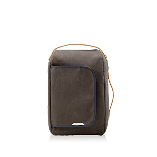 Rawrow Fashion School Backpack Bookbag R Bag 200 Mini Wax Canvas (Charchol)