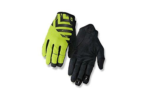 Giro DND Cycling Gloves - Men's Black/Lime Small