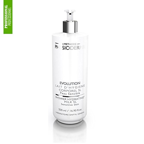 Physiodermie Shower Hydrating Milk SL (Sensitive Skin) 16.9 oz (500ml) by Methode Physiodermie