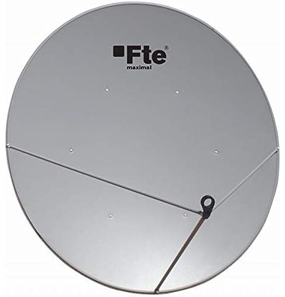 Antena Parabólica Offset 130 cm de Acero: Amazon.es ...
