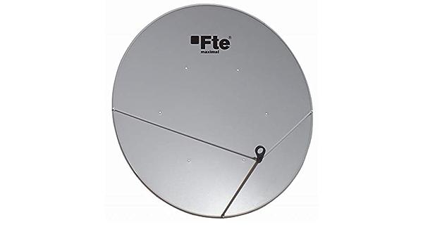 Antena Parabólica Offset 130 cm de Acero: Amazon.es: Electrónica