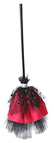 Pink Sparkle Witch Costumes (Barbie Witch Broom Costume Accessory)