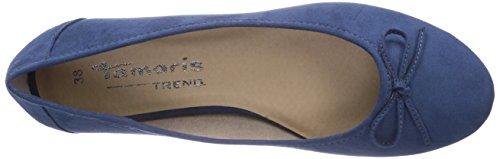 Tamaris 22103, Womens Ballet Pumps Blue (Ocean 803)