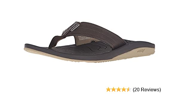 df8101e295188 Amazon.com  Reef Men s Swellular Cushion Lux Sandal  Shoes