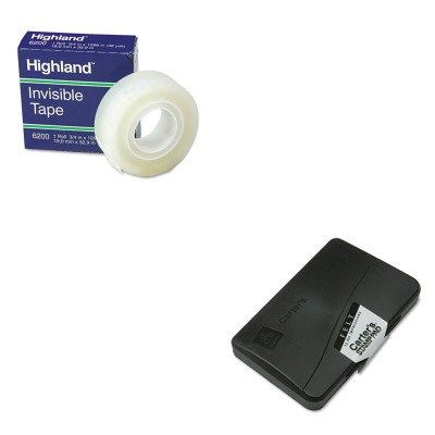 KITAVE21021MMM6200341296 - Value Kit - Carters Felt Stamp Pad (AVE21021) and Highland Invisible Permanent Mending Tape (Ave21021 Felt Stamp Pad)