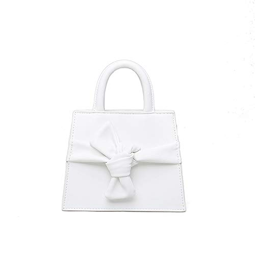 small and summer bag Female XNQXW square shoulder bag Bolsos decorated bag bandolera mini bow autumn White Messenger waist bag bag 8UO0FqxU