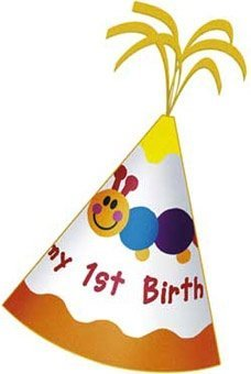Baby Einstein 1st Birthday Felt Party Hat