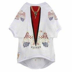 [Elvis Presley Dog T-Shirt Jumpsuit (XL) by Crowded Coop] (Elvis Presley Dog Costumes)