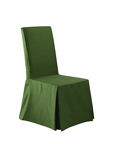 Sure Fit Twill Supreme - Dining Room Chair Slipcover - L...