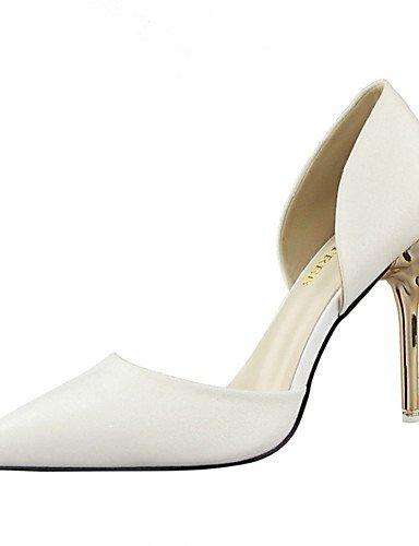 Vestido 5 Golden boda mujer Zapatos us8 tacones Y Rojo Plata Cn39 De tacones us8 5 Fiesta White Oro Zq Boda Uk6 Blanco Noche negro Eu39 Uk6 Cn40 1wqYaa