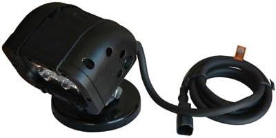 110VAC 90L X 70W Spot Beam LED Light Emitter w// Magnetic Mount 3-Watt LEDs 4 -White-Flood-3000K