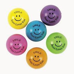 (Fun Express Religious Theme Bouncing Balls (4)