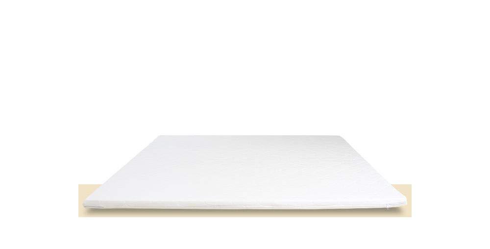 マットレスの上に置くマット 高反発 体圧分散 軽量 通気性良好 洗濯できるカバーリング 専用boxシーツ付 (クイーン【幅160×長さ195×厚み6cm】) B07QX4HSCV  クイーン【幅160×長さ195×厚み6cm】