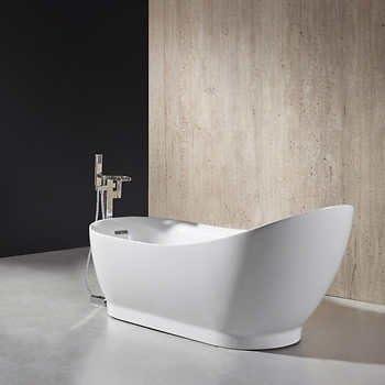 Ove Decors Rachel 70 Inch Freestanding Bathtub Amazon Com