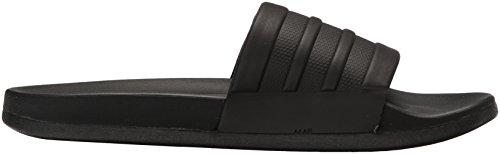 Sandalo Adidas Adidette Comfort Sandalo Scorrevole, Grigio Vapore Metallizzato / Grigio Vapore Metallizzato / Nero, 11 M Us Nero / Nero / Nero