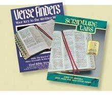 Bible Tab-Scripture Tabs O&N Testament-Black/Gold