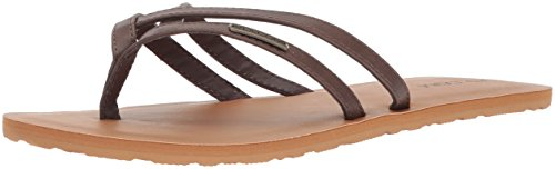 Mujer Marron Crosstown Chanclas Volcom Marron xqw1vXRznU