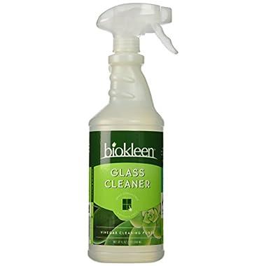 Biokleen Glass Cleaner Spray, 32 Ounces