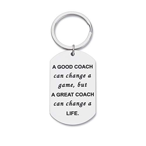 Coaches Gifts Keychain for
