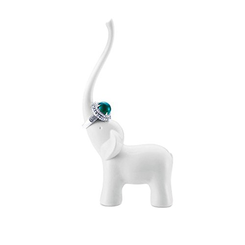 Selling Wonderful Elephant Jewelry Ring Holder - Engagement Wedding Ring Display Holder Stand (1) ()