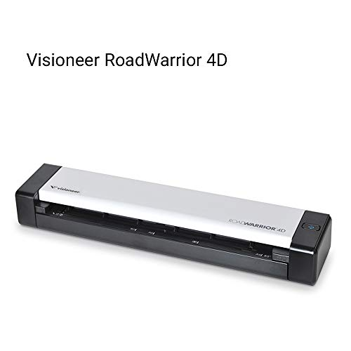 Visioneer RoadWarrior 4D Duplex Mobile Scanner ()