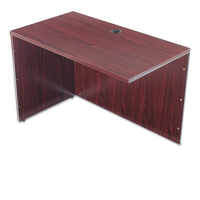Basyx BL2146NN BL Series Return Shell, 42 1/4w x 24d x 29h, Mahogany by Office Realm