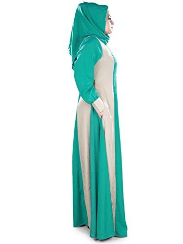 392 schönes entworfenes AY Grünes eid Partei MyBatua Kleid u islamisch graues abaya u Eg5PP7qw