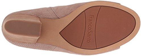 Franco Sarto Womens Firefly Hakken Sandaal Taupe Snake Suede