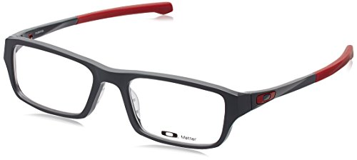 Oakley Chamfer OX8039-0351 Eyeglasses Satin Pavement Clear Demo 51 18 - Oakley Sunglasses Reading