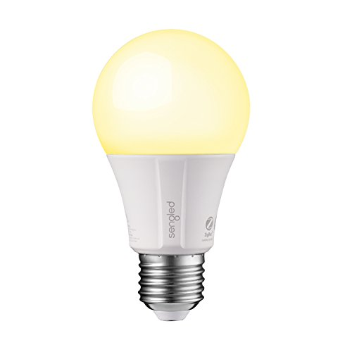 Sengled Element Classic A19 Smart Home LED Bulb, Compatible with SmartThings, Wink and Echo Plus, Requires Hub for Amazon Alexa and Google Assistant (1 Pack)