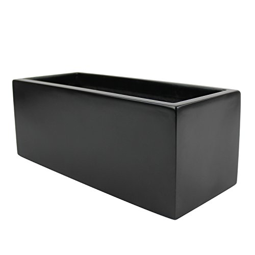 Brisbane Rectangle Fiberglass Planter Box (L:24